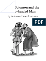 King Solomon and the Two-headed Man