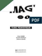 Le Mag A1 Guide Pedagogique