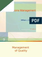 Chap009 - Management of Quality