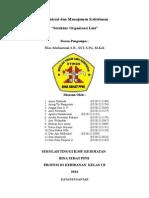 STruktur Organisasi Lini