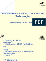 GSm CDMA 3G.ppt