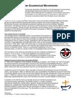 christian ecumenical movements