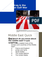 Persian Gulf War Ppt