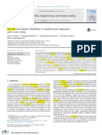 Aircraftoperationalreliability—A model-basedapproach and acasestudy