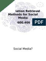 Social Media IR