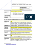 Regional Project Document Template 2012-01-10