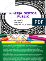 Kinerja Sektor Publik