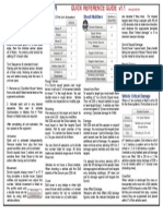 Quick Refernce Sheet v1