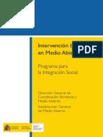 Programa de Intervencion en Medio Abierto (Prisiones)