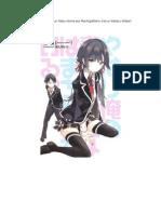 Yahari Light Novel Jilid 1