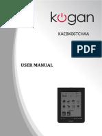 Kogan ebook reader