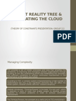 Group11_Current Reality Tree & Cloud