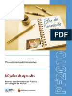 Manual Procedimiento Administrativo comun