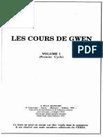 Manoury Pierre - Les Cours de Gwen Vol 1