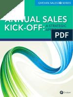 Annual Sales Kickoffs