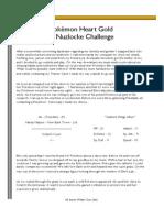 Nuzlocke Heart Gold