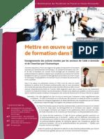 Mettre en Oeuvre Une Politique de Formation 013167400 1652 23112012