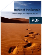 Importance of the Sunnah by Ali Camarratta