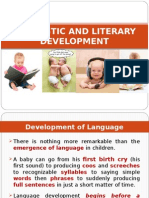 Linguistic and Literary Development
