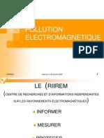 Pollution Electromagnétique CRIIREM