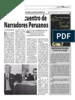 Primer Encuentro de Narradores Peruanos / Objetos de mi tocador (Rosa Núñez)