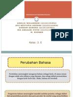 PPT Perubahan Fonologi & Kosa Kata