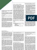 Labor Law Rev - Parts i - V Digests