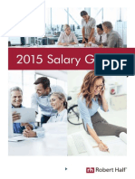 RobertHalf UK Salary Guide 2015