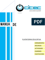Manual de Usuario Plataformas Moodle
