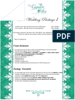 Wedding Package 1 a4