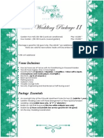 Wedding Package 2 a4