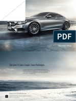 s Class Coupe Brochure