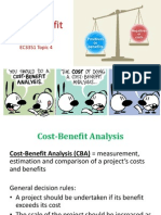 Topic 4 Cost Benefit Analysis (With Page 41)