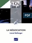 La Negociation - Lionel Bellenger