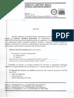 20150106 Anunt Concurs Asistenti Medicali Generalisti
