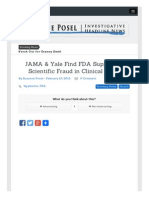 Www Occupycorporatism Com Home Jama Yale Find FDA Suppresses Scientific Fraud Clinical Trials