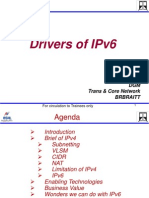 Drivers of IPv6_vkd