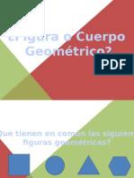 Presentación Cuerpos y Figuras Geometricos Matematicas