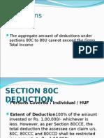Deductions 2011