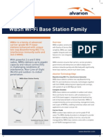 Alvarion WBSn Base Station Family Datasheet