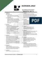 L Pembahasan Ps1 SOSIOLOGI Superintensif SBMPTN 2013