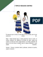 Traje Tipico Region Centro de Guerrero