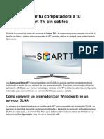 Como Conectar Tu Computadora a Tu Samsung Smart Tv Sin Cables 10996 Ne9hwq