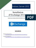 Installation d'Exchange 2013 (tuto de a à Z)
