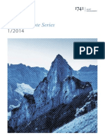 1741 Asset Management Ag Research Note Series i 2014 - 1741 Switzerland Index Series - De