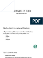 Starbuckss International Strategy