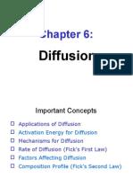 Ch6 Diffusion