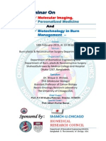 Seminar On -Molecular Imaging,Personalized Medicine And Biotechnology in Burn Management –
