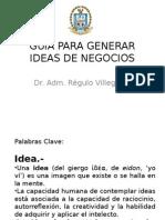 (Desarrollo Empre.-archivo 33) Guía Para Generar Ideas de Negocios Untecs