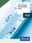 Allianz Pension Sustainability Index 2014